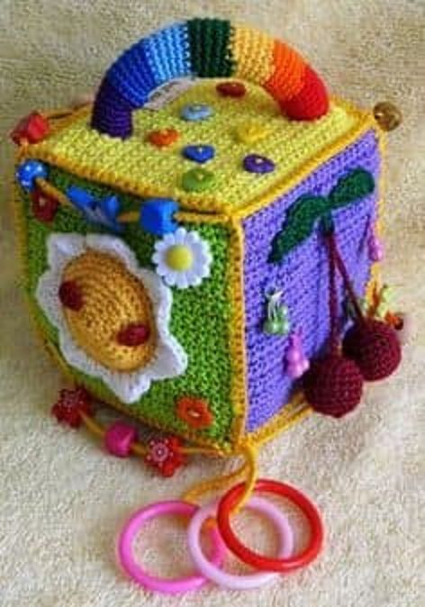 juguete crochet