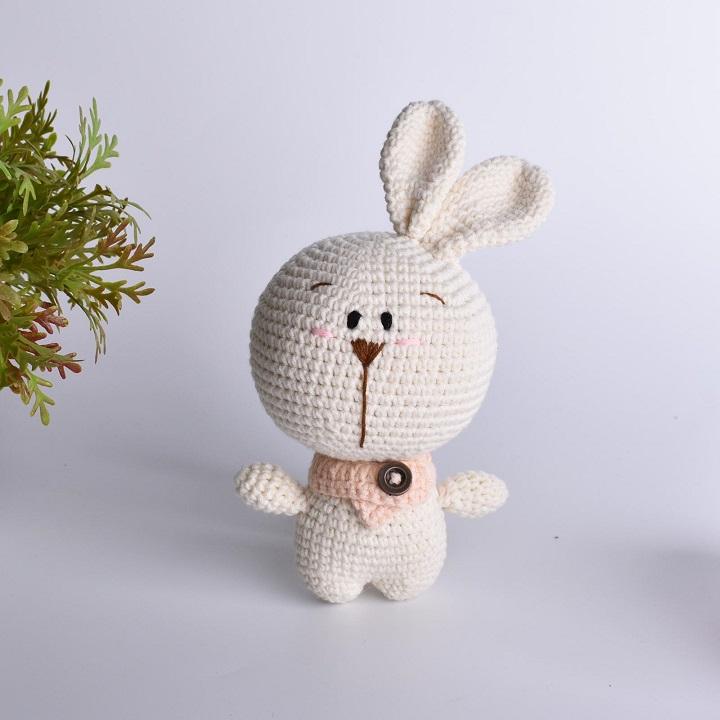 conejos de crochet