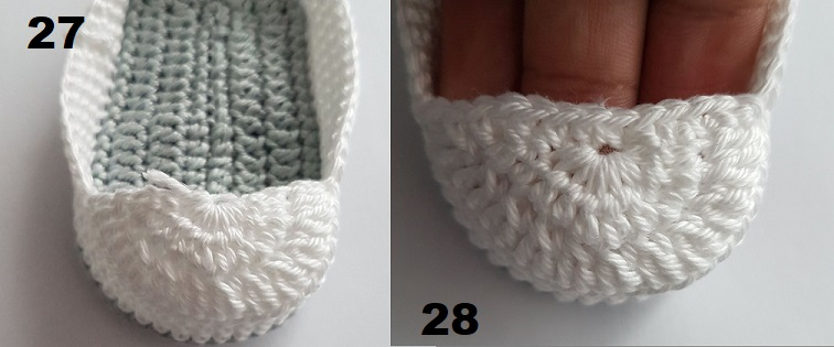 tutorial botitas crochet