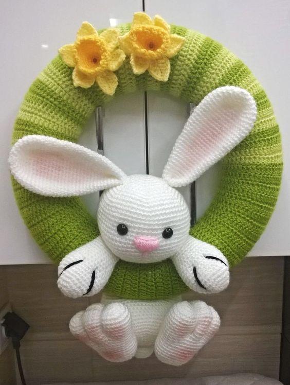 guirnalda bebe crochet