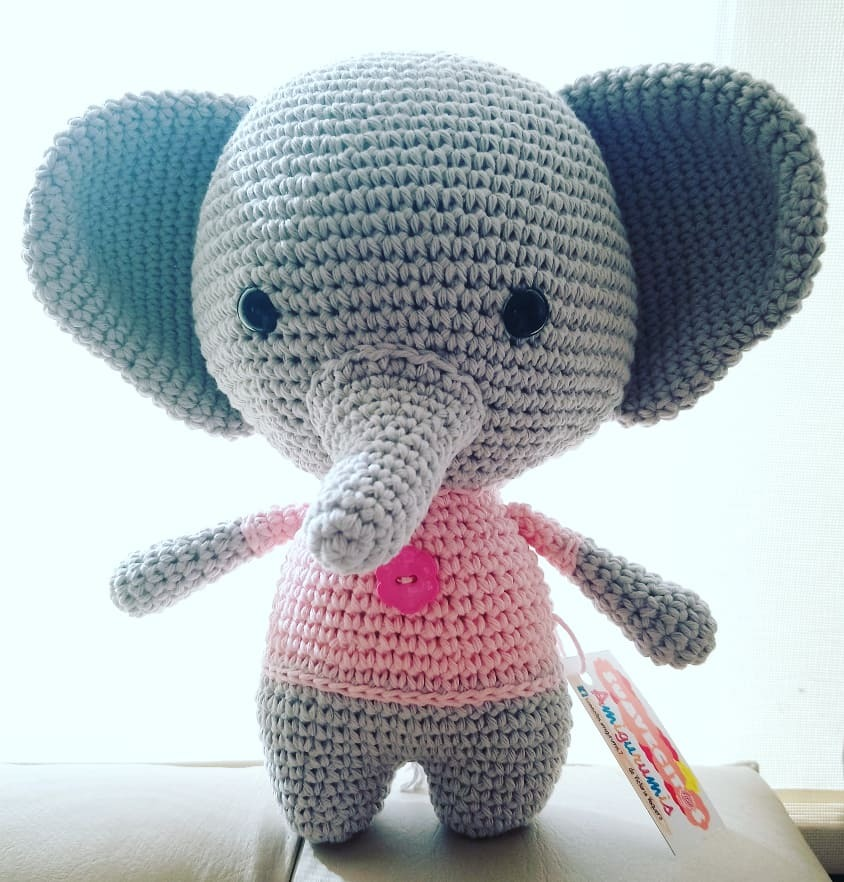 ¿Sabías que los elefantes son los peluches favoritos de los bebés?