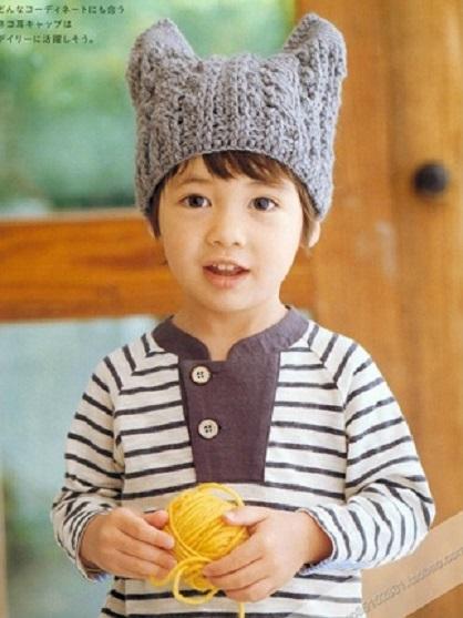 gorro niños crochet