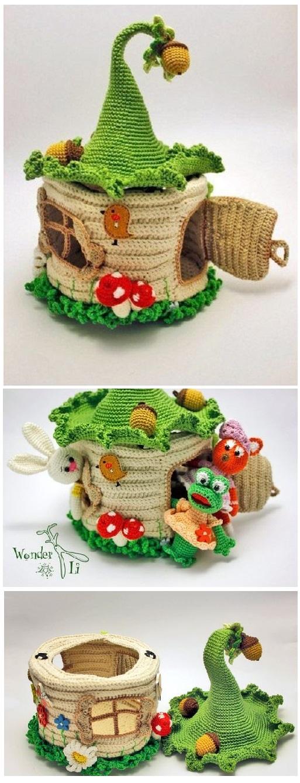 Juguetes en crochet para los más pequeñitos