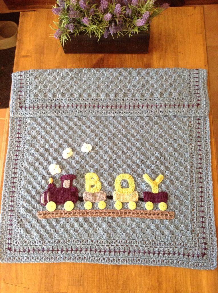 cobijas bebe crochet