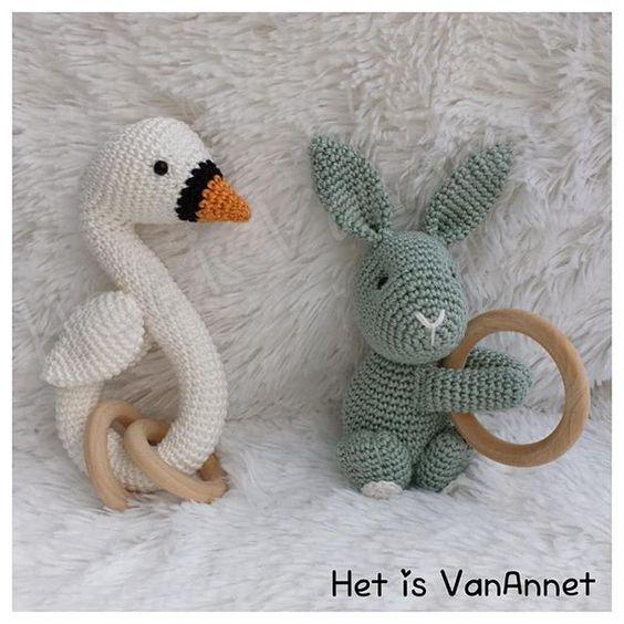 Juguete bebe crochet