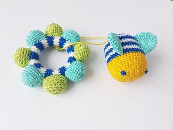 juguete bebé crochet