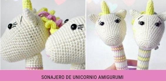 patron sonajero unicornio