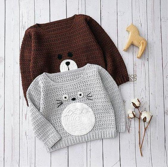 jersey ganchillo bebé