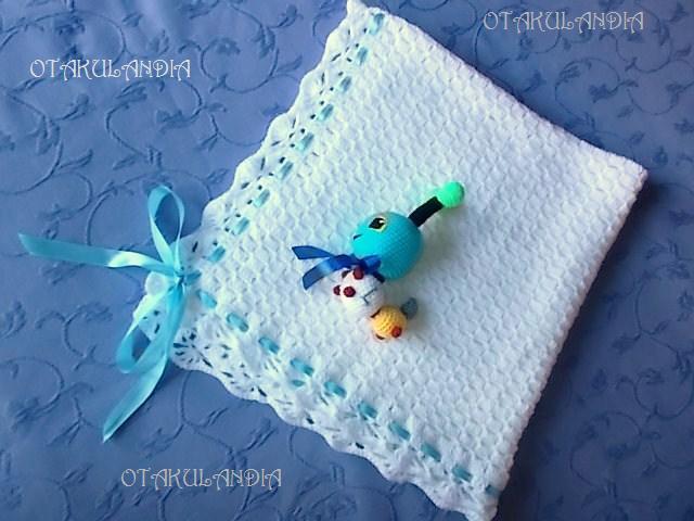 mantita para nene crochet